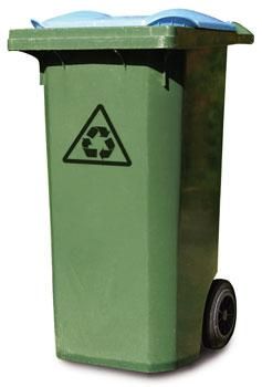 Entsorgung von Müll in Wien